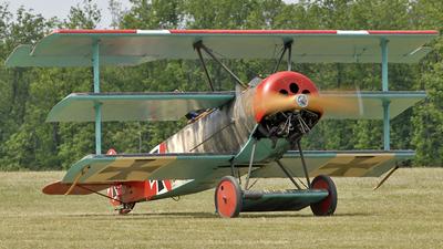 F-AZPQ - Fokker DR.1 - Private