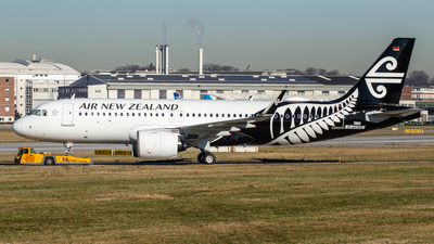 D-AUBR - Airbus A320-271N - Air New Zealand