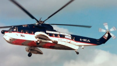 G-BEJL - Sikorsky S-61N - British International Helicopter Services