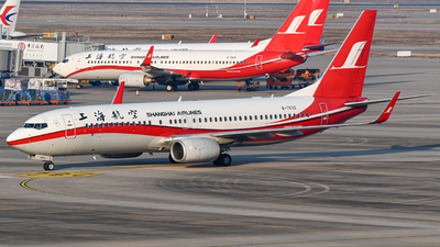 A picture of B7633 - Boeing 73789P - Shanghai Airlines - © ZhangYang