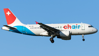 A picture of HBJOG - Airbus A319112 - Chair Airlines - © Marco Papa