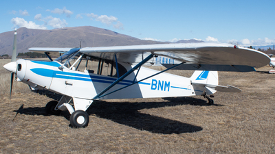 ZK-BNM - Piper PA-18-150 Super Cub - Aero Club - Canterbury