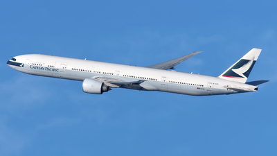 B-KPG - Boeing 777-367ER - Cathay Pacific Airways