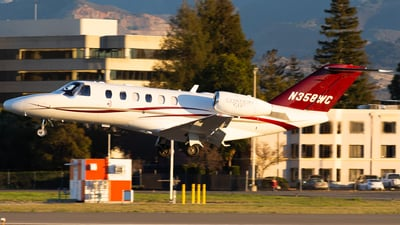 N358WC - Cessna 525A CitationJet 2 Plus - Private