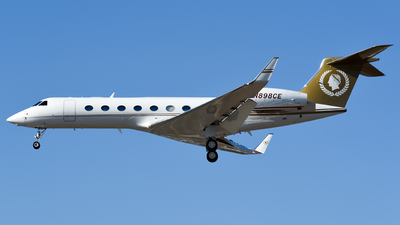 N898CE - Gulfstream G550 - Private