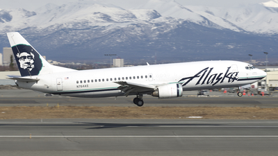 N764AS - Boeing 737-4Q8(C) - Alaska Airlines