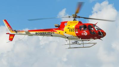 PP-SAV - Helibrás AS-350B3 Esquilo - Brazil - Military Firefighters
