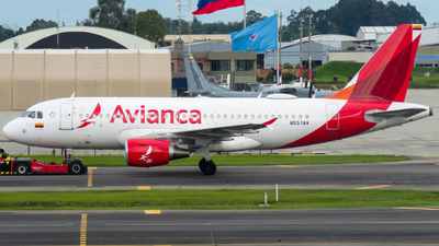 N557AV - Airbus A319-115 - Avianca