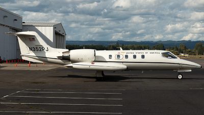 N352PJ - Gates Learjet 35A - Private