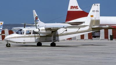 EC-CKL - Britten-Norman BN-2A-27 Islander - Meerblick