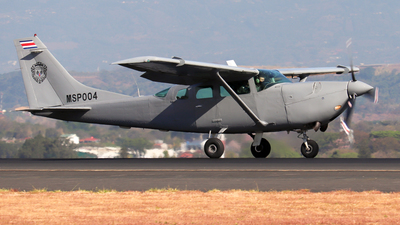 MSP004 - Cessna 206H/Soloy 206 Turbine MK 2 - Costa Rica - Ministry of Public Security