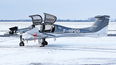 A picture of FHPDG - Diamond DA62 - [62.110] - © bruno muthelet