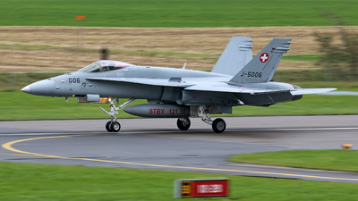J-5006 - McDonnell Douglas F/A-18C Hornet - Switzerland - Air Force