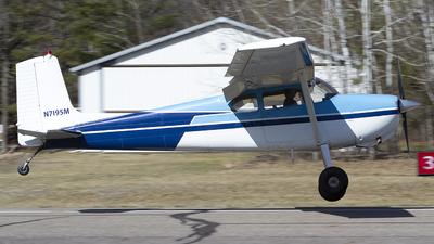 A picture of N7195M - Cessna 175 Skylark - [55495] - © Jeremy D. Dando