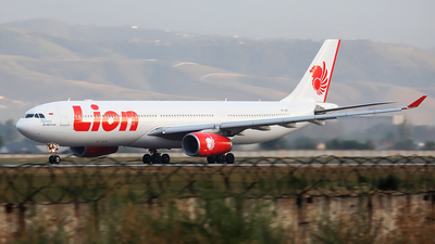 PK-LEF - Airbus A330-343 - Lion Air