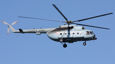 5528 - Mil Mi-8MTV-1 Hip - Poland - Navy