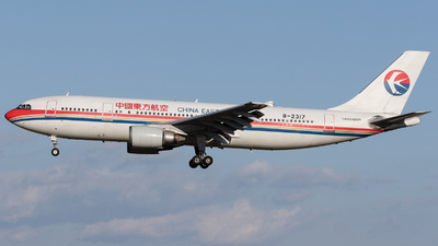 B-2317 - Airbus A300B4-605R - China Eastern Airlines