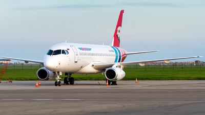 A picture of RA89088 - Sukhoi Superjet 10095LR - Yamal Airlines - © Alexander Lebedev