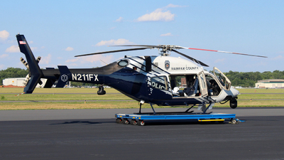 N211FX - Bell 429 Global Ranger - United States - Fairfax County Police