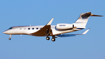 N604GA - Gulfstream G650ER - Private