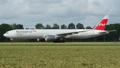 A picture of VPBJP - Boeing 777367(ER) - Nordwind Airlines - © Ricardo de Vries