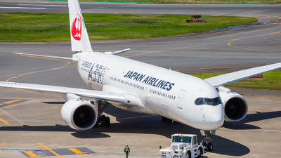 A picture of JA02XJ - Airbus A350941 - Japan Airlines - © LUSU