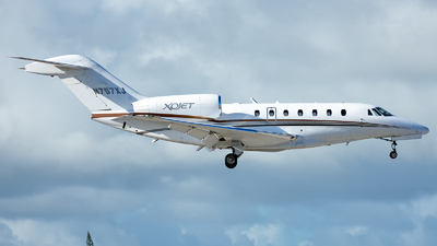 N757XJ - Cessna 750 Citation X - XOJet
