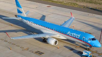 LV-CKZ - Embraer 190-100IGW - Aerol�neas Argentinas