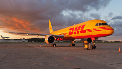 D-ALEO - Boeing 757-2Q8(SF) - DHL (European Air Transport)