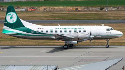 ZK-CIE - Convair CV-580 - Air Chathams