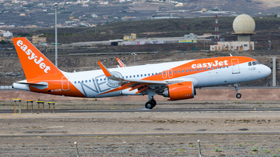 A picture of GUZHB - Airbus A320251N - easyJet - © Wings77