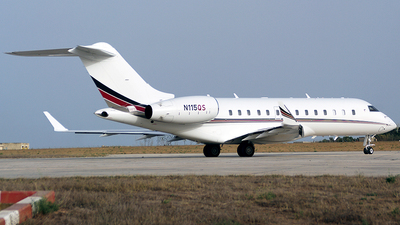 N115QS - Bombardier BD-700-1A11 Global 5000 - NetJets Aviation