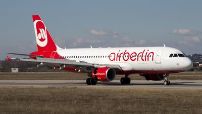 D-ABZL - Airbus A320-216 - Air Berlin
