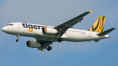 9V-TRM - Airbus A320-232 - Tiger Airways