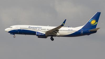 9XR-WR - Boeing 737-8SH - RwandAir