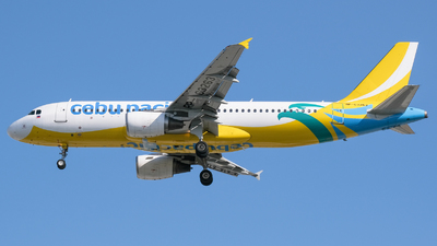 RP-C3263 - Airbus A320-214 - Cebu Pacific Air
