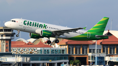 PK-GLM - Airbus A320-214 - Citilink
