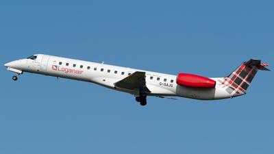 A picture of GSAJG - Embraer ERJ145EU - Loganair - © Ian McGregor