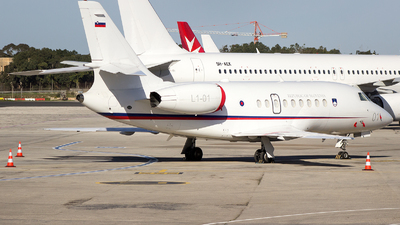 L1-01 - Dassault Falcon 2000EX - Slovenia - Armed Forces