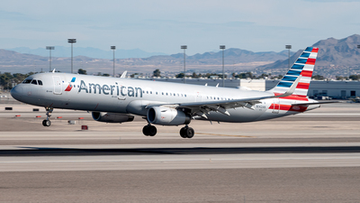 A picture of N142AN - Airbus A321231 - American Airlines - © Yan777