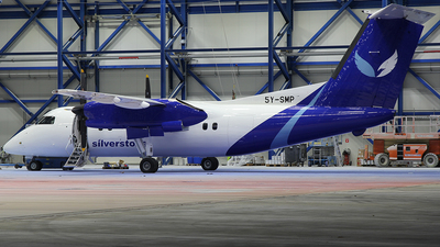 5Y-SMP - Bombardier Dash 8-102A - Silverstone Air Services
