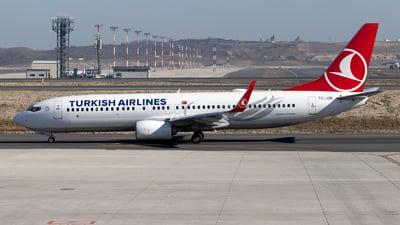 TC-JZN - Boeing 737-8JP - Turkish Airlines