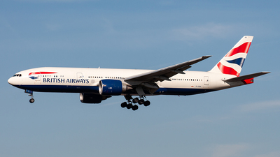 G-VIIM - Boeing 777-236(ER) - British Airways