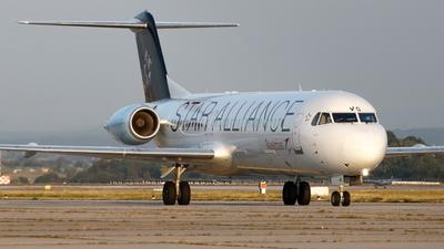 OE-LVG - Fokker 100 - Austrian Airlines