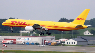 A picture of GBMRB - Boeing 757236(SF) - DHL - © R.Rimestad