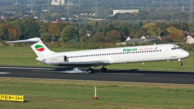 LZ-LDF - McDonnell Douglas MD-82 - Bulgarian Air Charter (BAC)