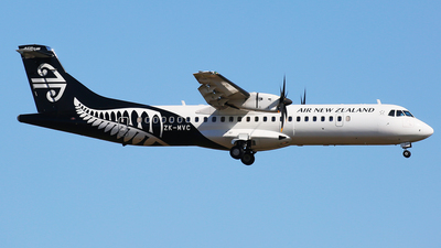 ZK-MVC - ATR 72-212A(600) - Air New Zealand Link (Mount Cook Airline)