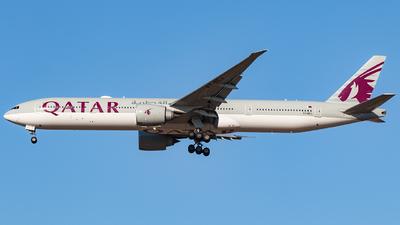 A7-BEG - Boeing 777-3DZER - Qatar Airways