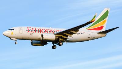 A picture of ETARD - Boeing 7377Q8 - Ethiopian Airlines - © Laszlo Fekete