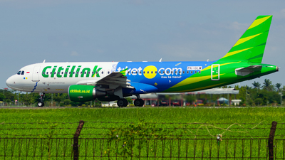 A picture of PKGLW - Airbus A320214 - Citilink - © Wilbert Tana